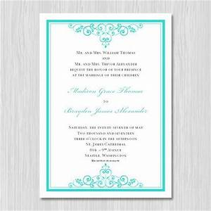 tiffany blue wedding invitations printable template With etsy editable wedding invitations