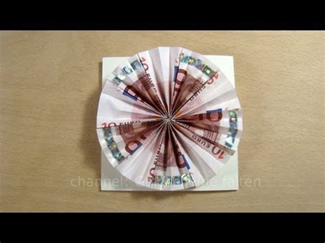 geldgeschenke originell verpacken sonne basteln geld