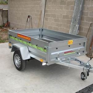 Location Remorque Porte Voiture Sans Permis E : remorque basculante ridelle cu 327 kg ~ Melissatoandfro.com Idées de Décoration