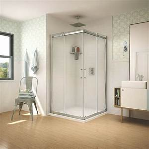 Fleurco Apollo 42 U0026quot X42 U0026quot X75 U0026quot  Sliding Square Shower Enclosure