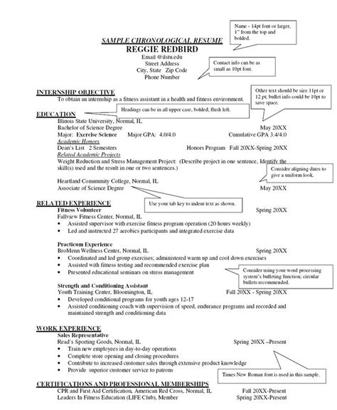 Chronological Resume Template Doc by 25 Best Ideas About Chronological Resume Template On