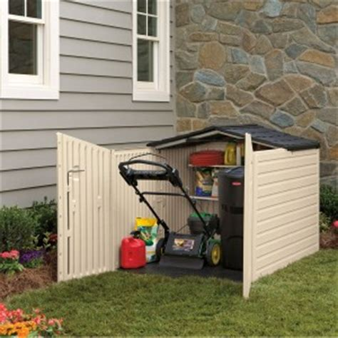exterior furniture plastic rubbermaid storage sheds ideas