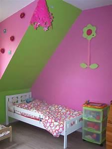 Chambre Fille 4 Ans : d coration chambre fille 2 ans ~ Teatrodelosmanantiales.com Idées de Décoration