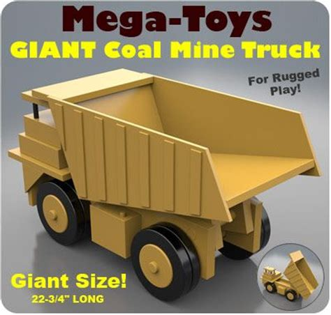 mega toys giant coal  truck wooden toys toys wood