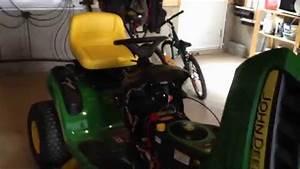 Riding Mower John Deere D105 Tractor 12v Receptacle