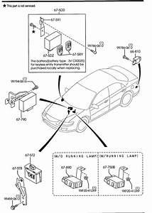 2005 Mazda Mazda 6 Transmitter Set  Keyless