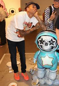Chris Brown Picture 338 - Chris Brown's Art Show and New ...