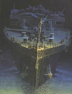 Inside titanic shipwreck for How many floors did the titanic have