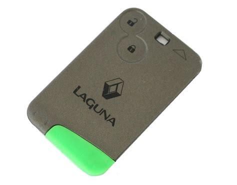 renault key card 2 button remote key for renault laguna 2005 2009 espace