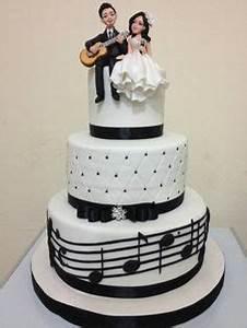 Musique Arrivée Gateau Mariage : wedding cake musique cakes by crazy cake en 2019 gateau anniversaire gateau guitare et ~ Melissatoandfro.com Idées de Décoration