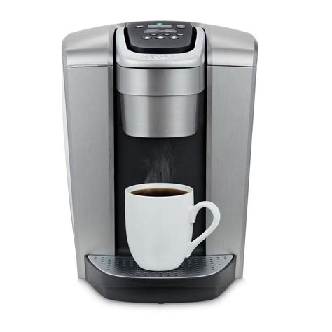 We were helping our daughter find an apartment and one of the apartment complex the movers wanted coffee! Keurig Elite Brushed Silver Single-Serve Coffee Maker at Lowes.com