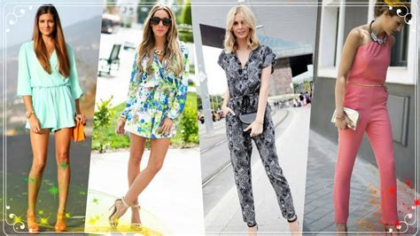 Hot Fashion Trend | jumpsuits and Rompers outfits for women 2018 - YouTube