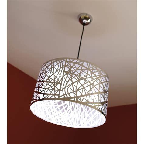 suspension chambre adulte suspension design liverpool métal gris 1 x 60 w inspire leroy merlin