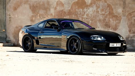 widebody supra wallpaper car wallpapers black tuning toyota supra japan jdm