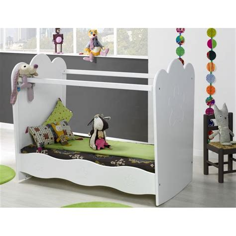 chambre bébé lit plexiglas lit bebe sans barreaux plexiglas visuel 6