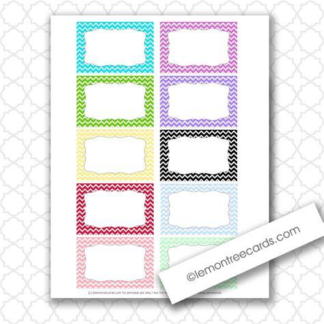 10 Printable Index Cards Baby Lemon Tree Cards Freebie Friday Tiny Chevron Note