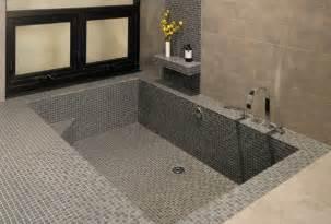 Sunken Tub Bathroom Remodel