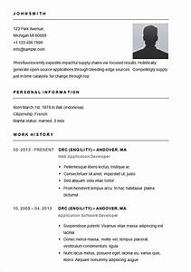 resume templates With different resume templates