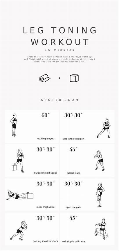 Toning Leg Workout Exercises Minute Workouts Legs