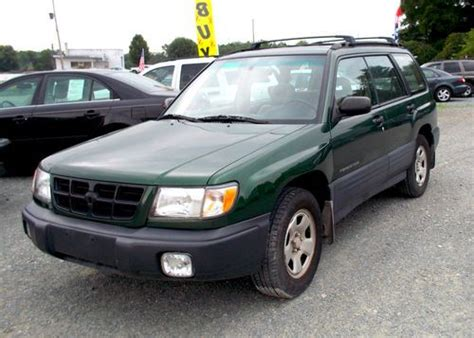 2002 green subaru forester sell used 2002 subaru forester l wagon 4 door 2 5l in