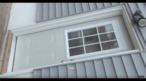 Putting A Door Into A Garage by How To Install A Pre Hung Exterior Front Door