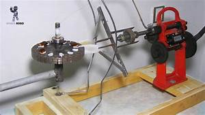 How To Make Ceiling Fan Coil Winding Machine  Home Made