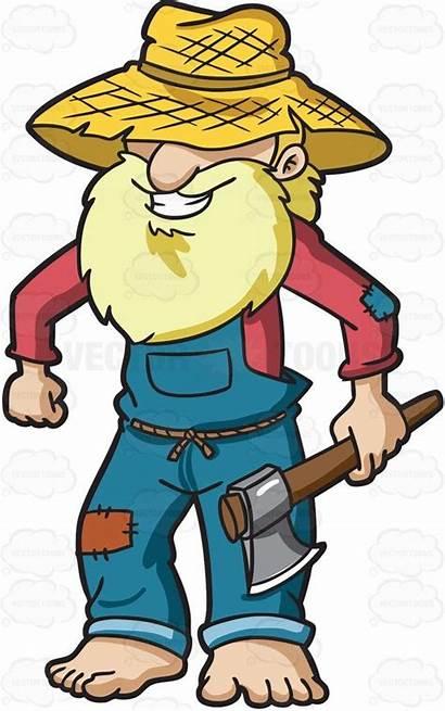 Farmer Cartoon Drawing Cartoons Vector Clipart Yokel