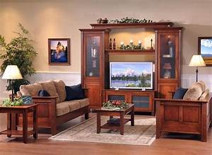 Amish Solid Wood Entertainment Centers And Corner TV