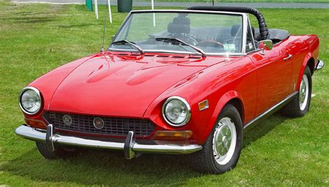 1974 Fiat Spider by File 1974 Fiat 124 Spider Front Angle St Jpg