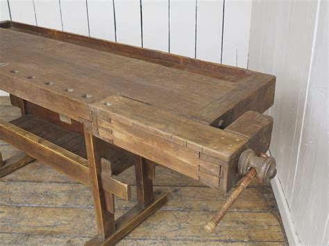 antique woodworking vintage bench   vices