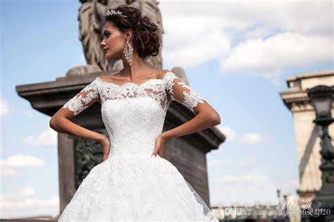 Vintage Lace Wedding Dresses 2018 Off The Shoulder