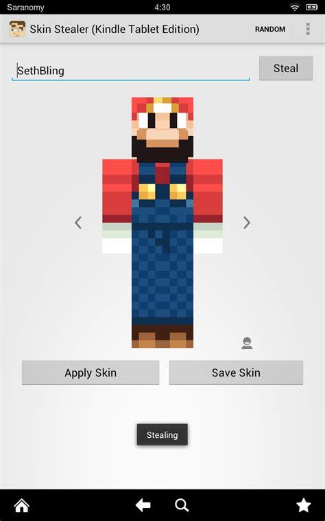 skin stealer  minecraft amazones tienda apps