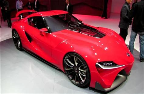 New Latest Toyota Supra 2015 Red Color Luxury Car Hd