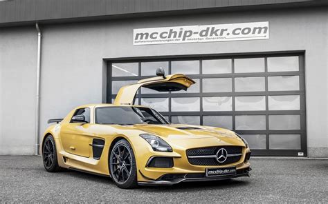 2018 Mcchip Dkr Mercedes Benz Sls Amg Black Series