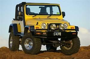 Jeep Wrangler Tj  Old Man Emu 4 U0026quot  Lift  97