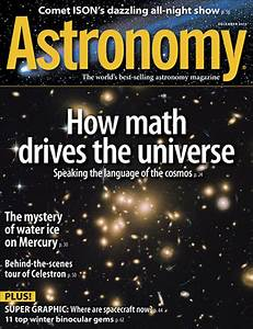December 2013: Astronomy explores how math drives the ...