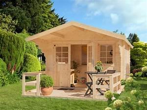 Gartenhaus Mit Terrasse : luoman gartenhaus lillevilla 265t bxt 300x300 cm mit terrasse online kaufen otto ~ Whattoseeinmadrid.com Haus und Dekorationen
