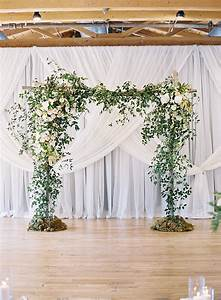 Love this for an indoor ceremony chris isham photography for Backdrop decoration for wedding