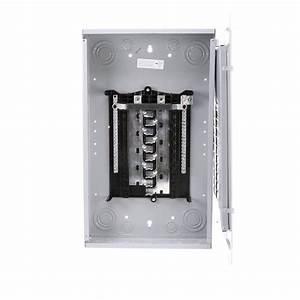 Siemens Es Series 200 Amp 20-space 40-circuit Main Lug Indoor Load Center-s2040l1200