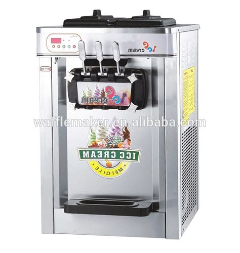 table top ice cream machine sale 3 flavor high quality 22l soft ice cream machine for sale