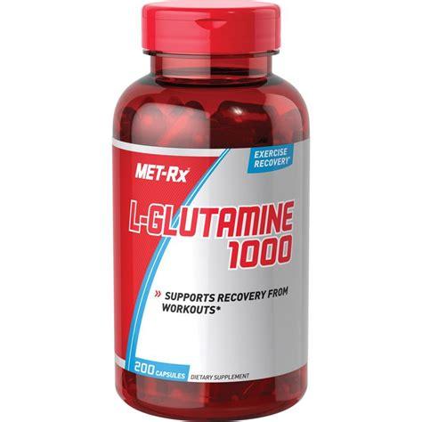 amazoncom met rx  glutamine  mg diet supplement
