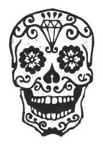 Sugar Skull Pumpkin Stencils Free by Sugar Skull Woodcut By Librarianartist On Etsy 20 00