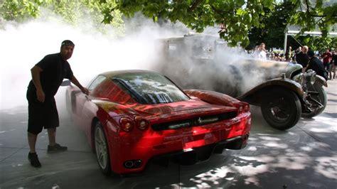 ferraris famous supercar fleet   flames autofluence