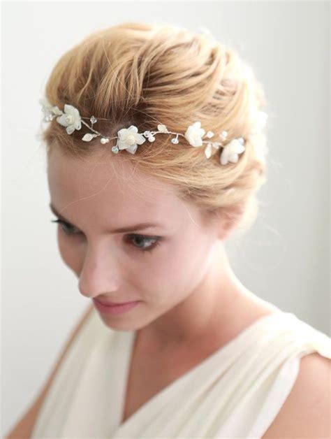ideas  wedding flower headbands  pinterest