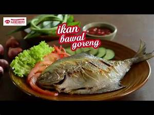 Tasty Treat: Ikan Bawal Goreng / Fried Pomfret Fish - YouTube