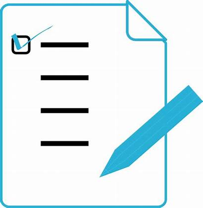 Clipart Clip Checklist Pencil Check Lists Clker