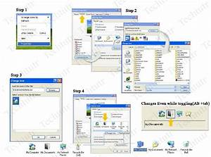tech tutor how to change my computer my documents my With my documents icon windows xp