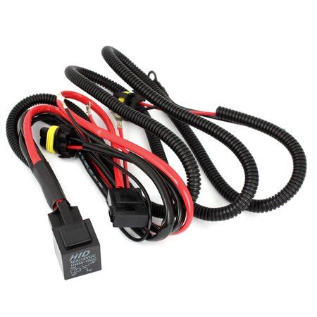 Walmart Canada Wiring Kit by Unique Bargains Relay Wiring Harness W Fuse For Hid Xenon