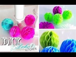 Faschingsdeko Selber Machen : diy wabenb lle f r party deko einfach selber machen deko kitchen youtube deko pinterest ~ Markanthonyermac.com Haus und Dekorationen