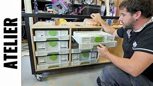 Fabriquer Un établi : fabriquer un etabli de maker partie 3 tiroirs ljvs youtube ~ Melissatoandfro.com Idées de Décoration